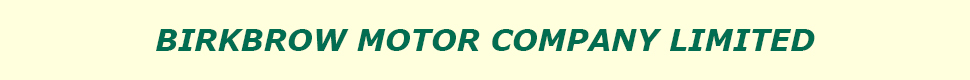 Birkbrow Motor Company Limited