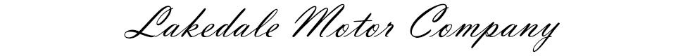 Lakedale Motor Company