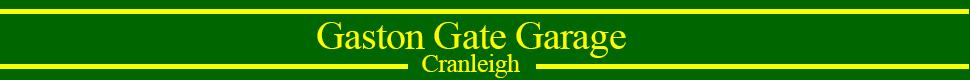 Gaston Gate Garage