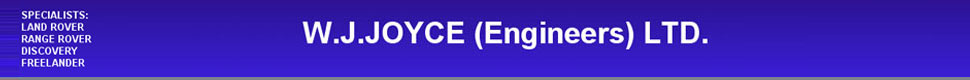 W J Joyce Engineering Ltd