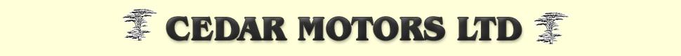 Cedar Motors Limited