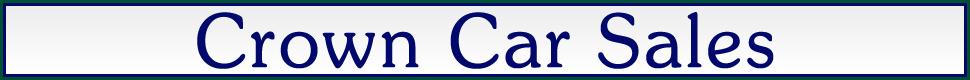 Crown Car Sales