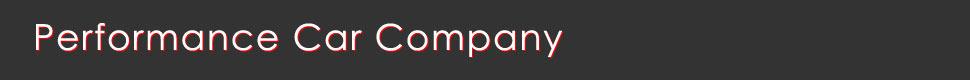 Performance Car Company