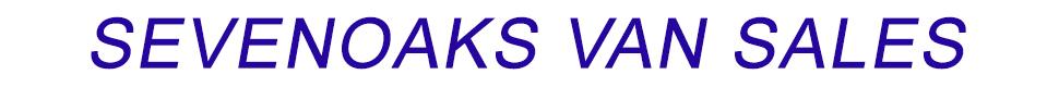 Sevenoaks Van Sales