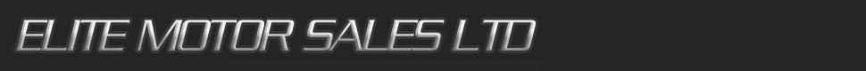 Elite Motor Sales Ltd