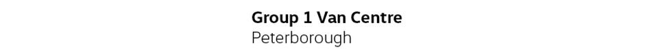 Vw Van Centre (Peterborough)