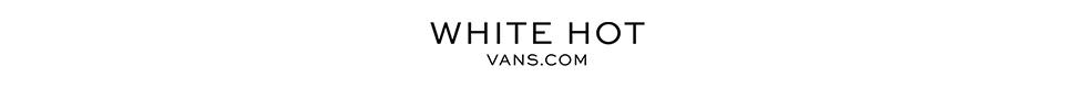 White Hot Vans